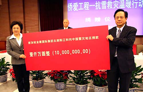 Sukanto Tanoto donation 10 million yuan
