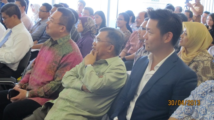 Jusuf Kalla JK and Anderson Tanoto at Tanoto Entrepreneurship Series