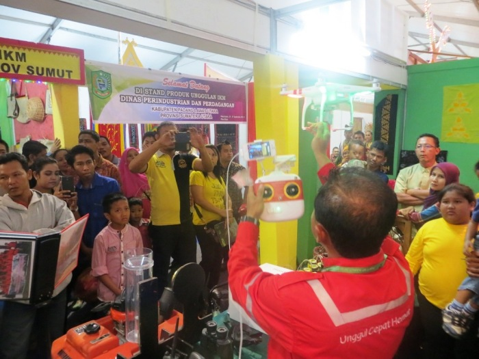 RAPP Booth at Riau Expo 2014