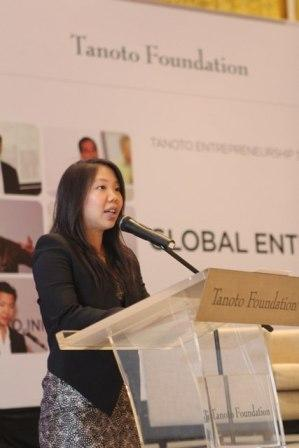 Imelda Tanoto at Tanoto Entrepreneurship Series 2014