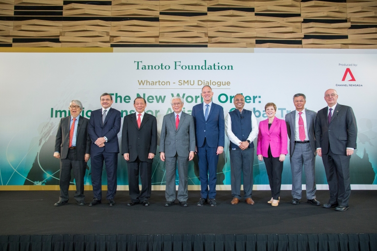Wharton SMU dialogue supported by Tanoto Foundation